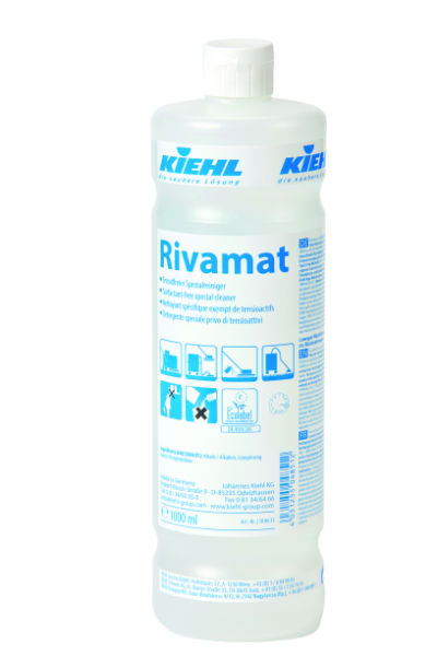 Rivamat, Tensidfreier Spezialreiniger, 1 l oder 10 l