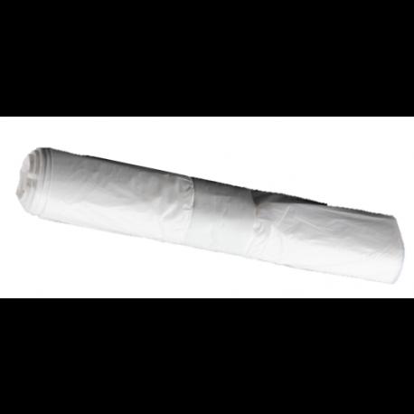 Müllbeutel 630x850, 70l, weiß, Hostess, PS 10my, 40 Beutel auf einer Rolle