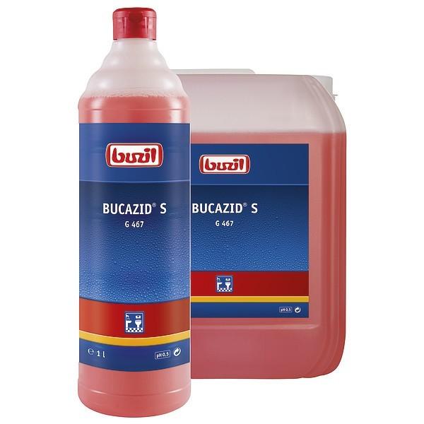 Bucazid S, Sanitärunterhaltsreiniger, 1 l und 10 l