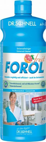 Forol fruit, Universalreiniger, 1 l und 10 l