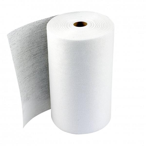 Staubbindetuch weiß 60 x 25 cm auf der Rolle (50 Stück)