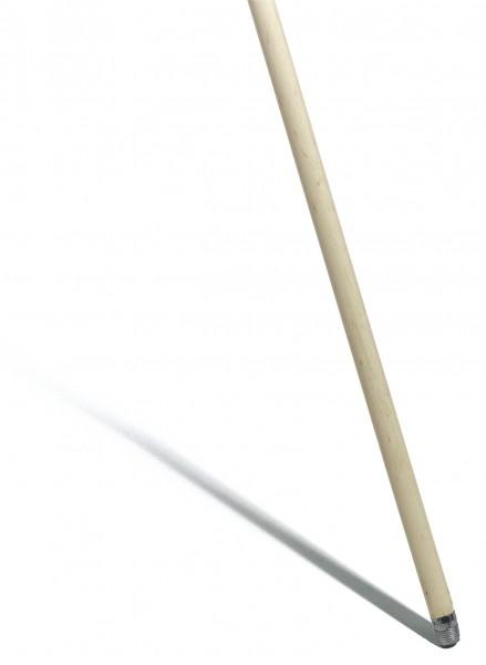 Besenstiel, Gewinde, Ø 23,5 mm, 120 cm