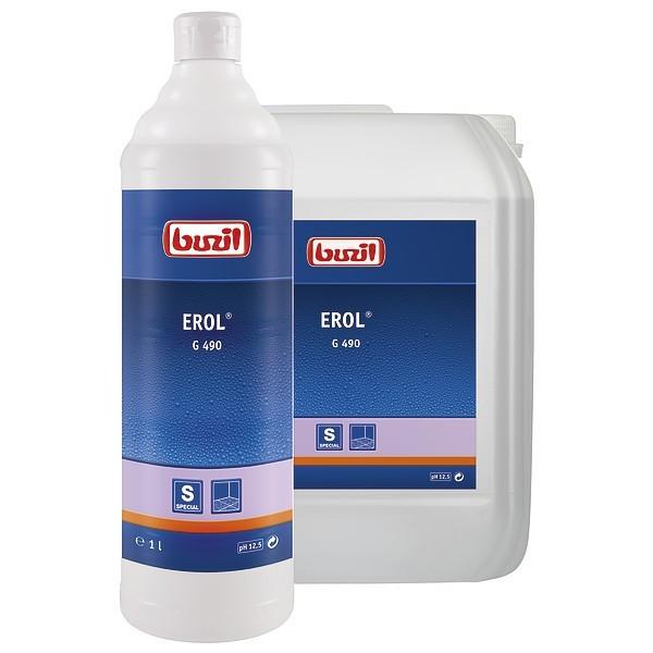 Erol, Feinsteinzeugreiniger alkalisch 1 l und 10 l