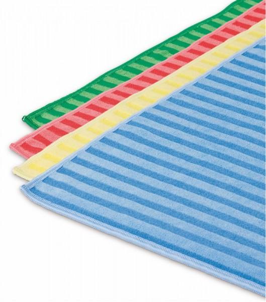 Microfasertuch Borsten, in vier Farben 40 x 40 cm
